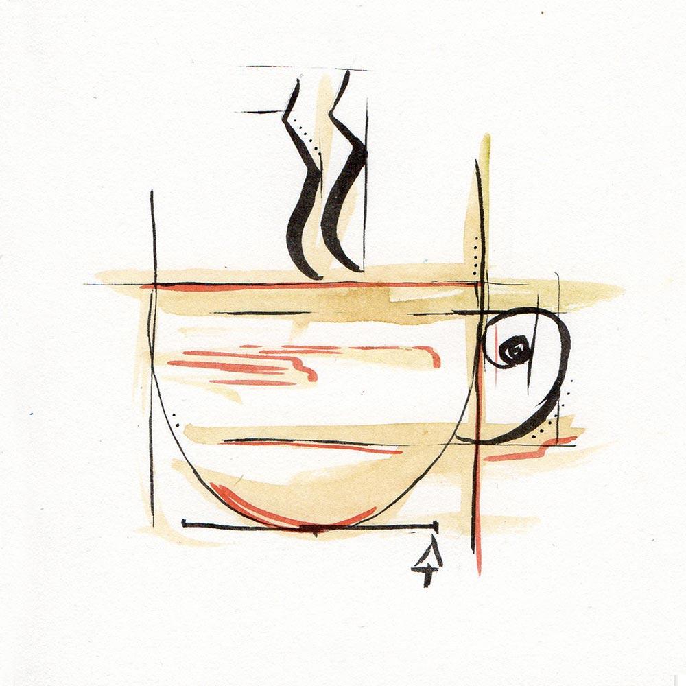 DUBHE - CAFFE - GEOMETRICO