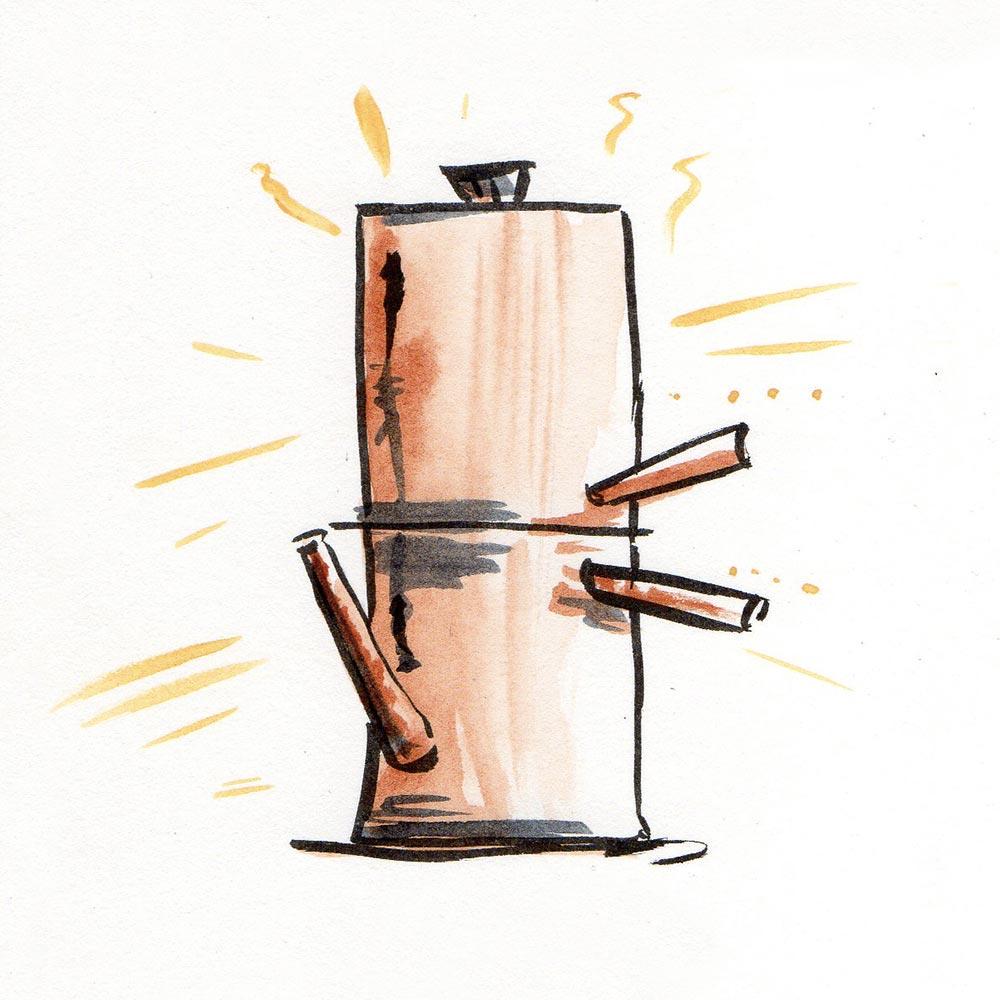 DUBHE - CAFFE - NAPOLETANO